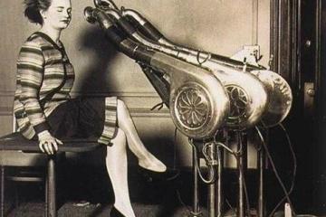 Tarihteki İlk Saç Kurutma Makinesi 1