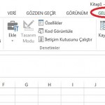 Excel Geliştirici 4