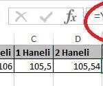 Excel'de Yuvarla ve Yukarıyuvarla Fonksiyonu Yani Sayının Ondalık Kısmını Azaltma Resimli 4