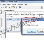Excel VBA (Makro) MsgBox (Mesaj Kutusu) Adım Adım Detaylı Kullanımı 36
