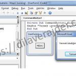 Excel VBA (Makro) MsgBox (Mesaj Kutusu) Adım Adım Detaylı Kullanımı 5