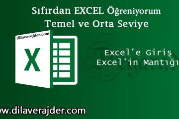 Excelin mantığı
